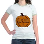 I am the Great Pumpkin Jr. Ringer T-Shirt
