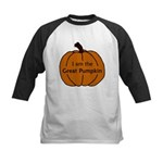 I am the Great Pumpkin Kids Baseball Jersey