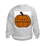 I am the Great Pumpkin Kids Sweatshirt