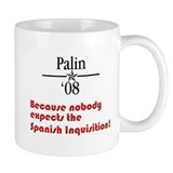 Palin Inquisition Mug