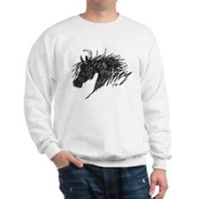 Horse Head Art Sweatshirt