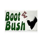 Boot Bush Rectangle Magnet