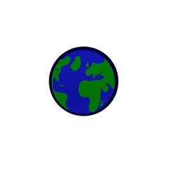 10 Earth Mini 1 inch Buttons