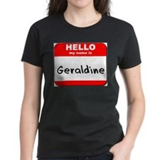 Hello my name is Geraldine Tee