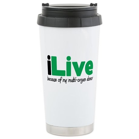 iLive Multi Organ Ceramic Travel Mug