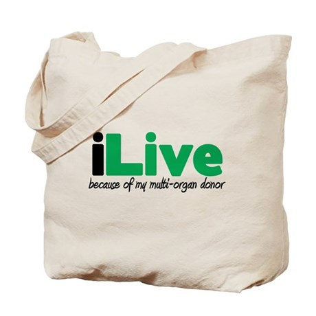 iLive Multi Organ Tote Bag
