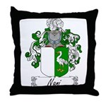 Nani Family Crest Throw Pillow