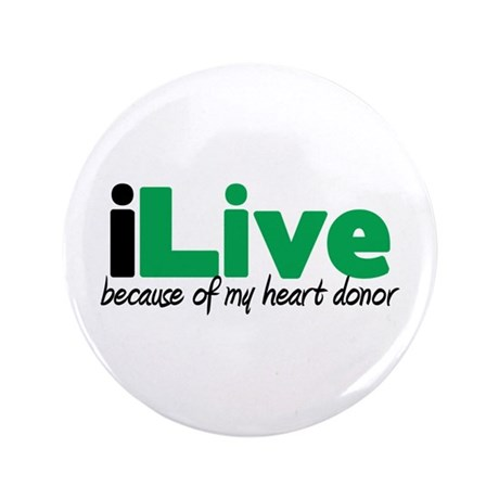 "iLive Heart 3.5"" Button"
