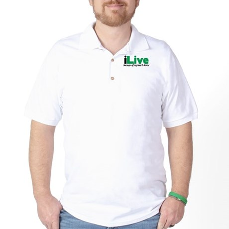 iLive Heart Golf Shirt