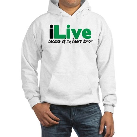 iLive Heart Hooded Sweatshirt