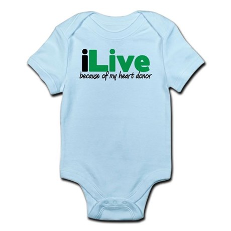 iLive Heart Infant Bodysuit