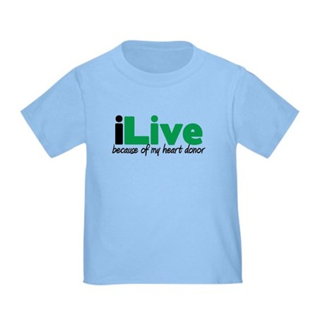 iLive Heart Toddler T-Shirt