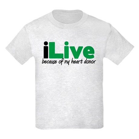 iLive Heart Kids Light T-Shirt