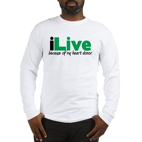 iLive Heart Long Sleeve T-Shirt