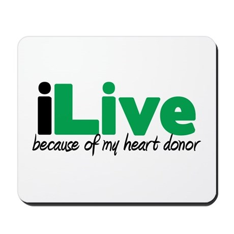 iLive Heart Mousepad