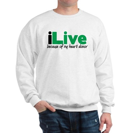 iLive Heart Sweatshirt
