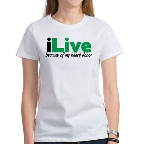 iLive Heart Women's T-Shirt