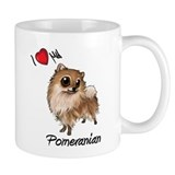 I Heart Love My Pom Mug