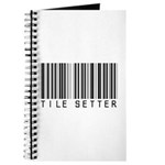 Tile Setter Barcode Journal
