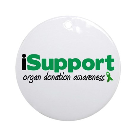 iSupport Transplants Ornament (Round)