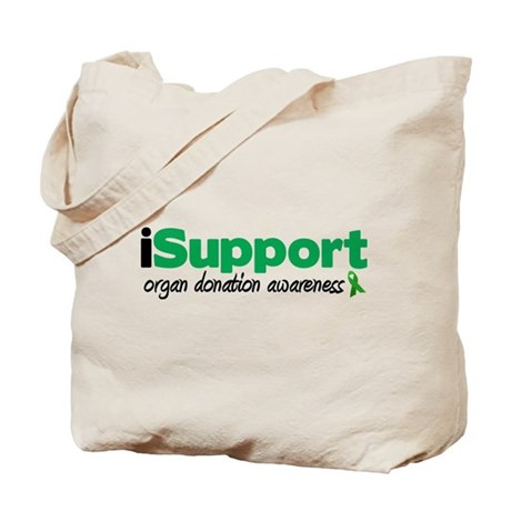 iSupport Transplants Tote Bag