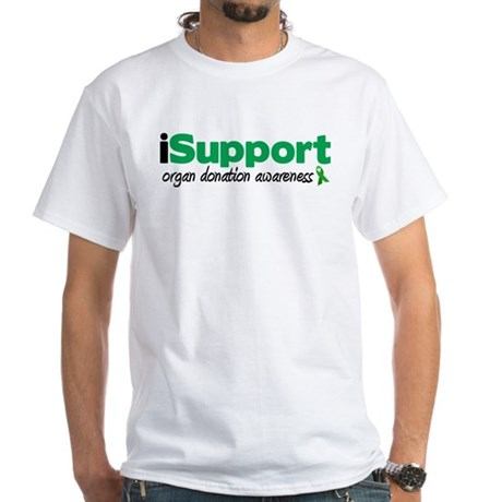 iSupport Transplants White T-Shirt