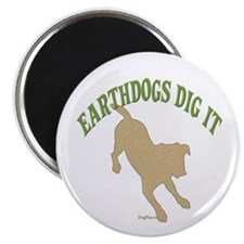 "Earthdogs Dig It 2.25"" Magnet (10 pack)"