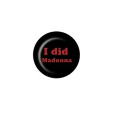 Cute Madonna Mini Button (10 pack)