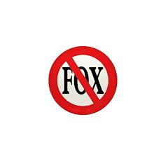 Anti-Fox 1 inch Mini Button (100 pack)
