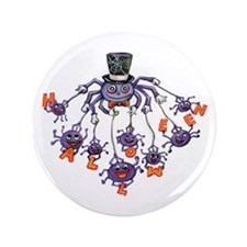 "Halloween Spider 3.5"" Button (100 pack)"
