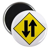Two-Way Traffic Sign - Magnet