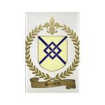 BRUNEAU Family Crest Rectangle Magnet (100 pack)