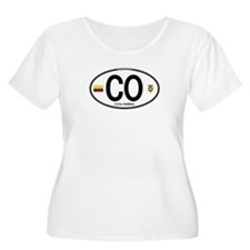 Colombia Euro Oval T-Shirt