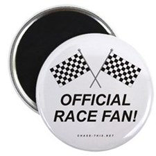 "Checker Flag Official 2.25"" Magnet (100 pack)"