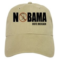 Funny Anti Obama Nobama Baseball Cap