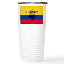 Colombian Flag Extra Travel Mug