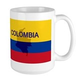 Colombian Flag Extra Coffee Mug