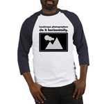 Landscape photographers do it Baseball Jersey