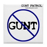 Gunt Patrol Tile Coaster