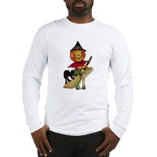 Pumpkin Witch Long Sleeve T-Shirt