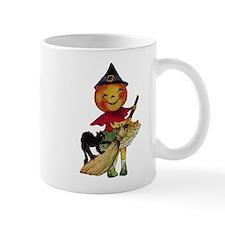 Pumpkin Witch Mug