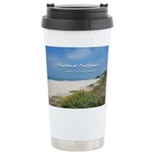 South Carlsbad Beach Ceramic Travel Mug