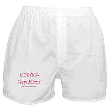 Lipstick Republican Boxer Shorts