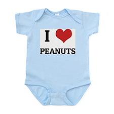 I Love Peanuts Infant Creeper