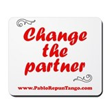 Change the Partner Mousepad