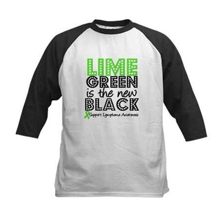 Lymphoma New Black Kids Baseball Jersey