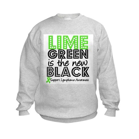 Lymphoma New Black Kids Sweatshirt