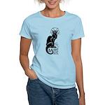 Basement Cat - Women's Light T-Shirt
