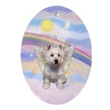 West Highland Angel Keepsake (Oval)