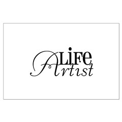 Life Artist Large Poster